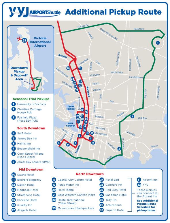 Flex Line Route Map